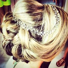 Bride's Wedding Updo by Ali, Long Island Makeup and Hair