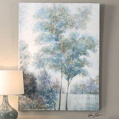 Uttermost Blue Spring Canvas Art – Harvey & Haley