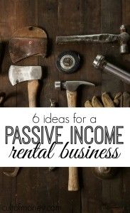 If you've thought of starting a semi-passive income business rentals could be a good option. Here are six things you can rent for money.