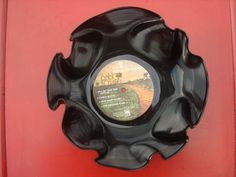 Vinyl Record Decor Bowl Pablo Cruise by SouthernBeeDesignz on Etsy, $10.00