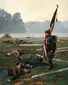 The Last Stand of the Colors By: Keith Rocco