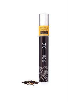 Chá preto aromatizado com pêssego e pétalas de malmequer  Ingredientes: Chá preto e Pêssego. Peso: 20g #chás #teas