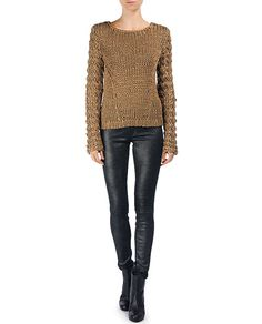 Farah chunky sweater in copper Sweater available Fall Bags, Got The Look, Rag And Bone, Dress Me Up, Urban Fashion, What I Wore, Style Me, Vogue, Skinny Jeans