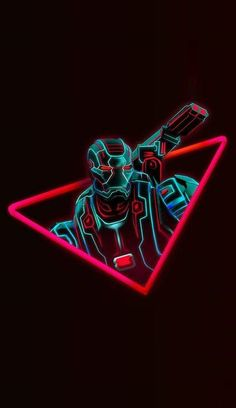 Iron Man Neon - Marvel Wallpapers HD For iPhone/Android Marvel Comics, Marvel Fan, Marvel Heroes, Infinity War, Wallpaper Thor, Neon Wallpaper, Marvel Universe, The Avengers, War Machine