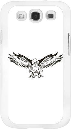Kara Kartal - Kara Kartal - Kendin Tasarla - Samsung Galaxy S3 Kılıfları