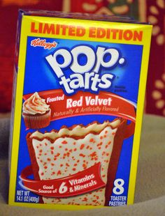Red Velvet Pop Tarts are a thing now.