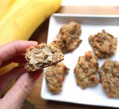 Oppskrift Bananbiter Etter Trening Snacks Banan Havregryn Sunn Kosemat Healthy Snacks, Cereal, Sweet Treats, Vegan Recipes, Food And Drink, Herbs, Breakfast, Mad, Health Snacks