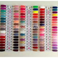 Dnd Nail Polish Color Chart Miami Dream Team