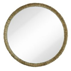 Found it at Wayfair - Simple Circular Textured Framed Glass Wall Mirror