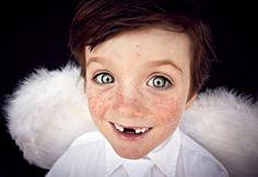 Kids portrait photography from Beatrice Heydiri,  amazing angel portraits for Xmas 2012