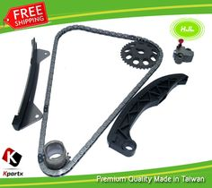 Timing Chain Kit For TOYOTA 1KR-FE YARIS AYGO PEUGEOT 107 1.0L 2005-  w/Gears #HJL