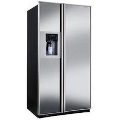 GENERAL ELECTRIC - RCE24KGFKBCPS _ Réfrigérateur Américain - Réfrigérateur No-Frost : 404 L - Clayettes verre coulissantes - Bac à légumes à humidité contrôlée - Bac à température réglable - Eclairage LED. Congélateur No-Frost : 168 L - 2 casiers amovibles - 3 clayettes métaliques - Eclairage LED. Distributeur 3 fonctions (eau - glace pilée - glaçons) - Filtre à eau intégré - Technologie FrostGard