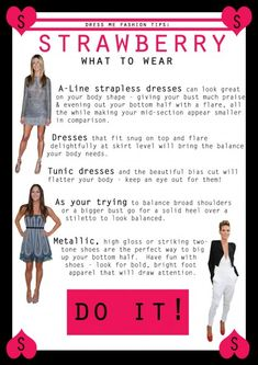 How to dress STRAWBERRY body shape - What to wear 3