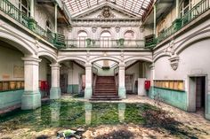 Urban Exploration, Abandoned, Forgotten, Rust, Decaying, Abandoned Places, Abandoned House, Abandoned Building School's Out by kleiner hobbit, via Flickr