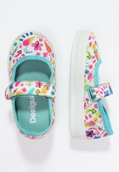 Chaussures Desigual LONA - Babies - azul atoll blanc: