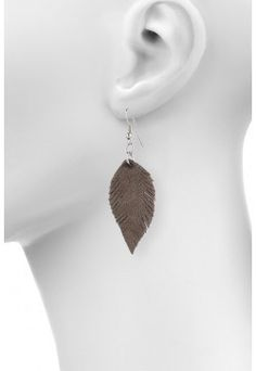 Type 2 Feigned Feather Earrings