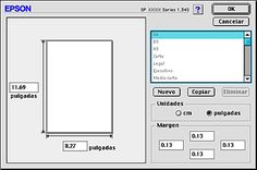 Definir de tamaños de papel personalizados Epson, Bar Chart, Diagram, Paper Size, Paper Envelopes, Bar Graphs