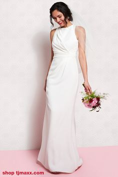 Find the perfect white dress for any bridal event.