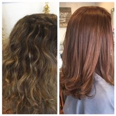 Drab To Fab, Warm Haircolor, Chestnut Color, Flamboyage Tones, The