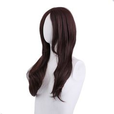 Synthetic Wigs Curly Wigs Fei-show Synthetic Heat Resistant Fiber Long Light Brown Hair Salon Inclined Bangs Hairpiece Costume Cos-play Hairset