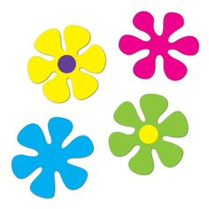 These fun 60's Retro Flower Cutouts are a fantastic way to brighten up any wall, door or window and make your party a blast from the past! Description from amols.com. I searched for this on bing.com/images