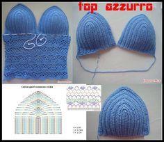 30 Fantastiche Immagini Su Costume Ad Uncinetto Crochet Bikini