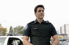 Ben Bass in Rookie Blue.  Love him and the show!