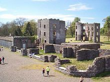 Shane's Castle is a ruined castle near Randalstown in County Antrim, Northern Ireland. The castle is on the north-east shores of Lough Neagh. Built in 1345 by a member of the O'Neill dynasty, it was originally called Eden-duff-carrick.[1] Shane MacBrien O'Neill changed the name to Shane's Castle in 1722.[1]