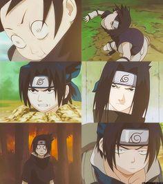 The many faces of Sasuke. #naruto