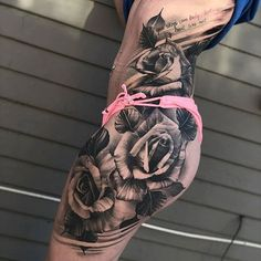 Side Thigh Rose Tattoos For Women - Best Thigh Tattoos For Women: Cute Thigh Leg. - Side Thigh Rose Tattoos For Women – Best Thigh Tattoos For Women: Cute Thigh Leg Tattoo Designs a - Rose Tattoos For Women, Side Tattoos, Sleeve Tattoos For Women, Great Tattoos, Trendy Tattoos, Beautiful Tattoos, Body Art Tattoos, Side Leg Tattoo, Classy Tattoos
