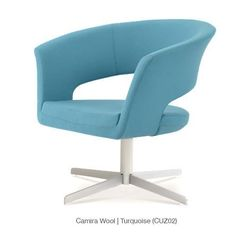 Buy Curvy Star Shaped Swivel Base Lounge Chair | 212Concept
