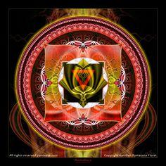 Original Mandala Mooladhara Chakra Root Chakra par Pumayana sur Etsy