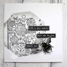 Morning crafters xx Tomorrow is the launch day for some fabulous new stamps by the lovely Bee Crafty ladies. Tune in to Hochanda, and so you dont miss out 😁🐝 Bee, Product Launch, Crafty, Creative, Stamps, Cards, Design, Seals, Honey Bees