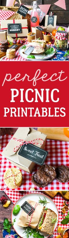 Summer picnics are about setting the scene for lifelong memories! Use stunning chalkboard labels (editable) and red and white gingham to set that scene. Read on for the step by step guide to planning an amazing Summer picnic! Picknick Set, Picnic Decorations, Homemade Chips, Chocolate Milkshake, Beer Batter, Ice Cream Toppings, Nutella Recipes, Chips Recipe, Decadent Chocolate