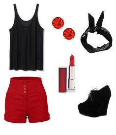 """The dark side wwyff Cory part 2"" by pretty-blueeyes ❤ liked on Polyvore featuring mode, Boohoo, Forever Link et Maybelline"