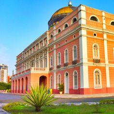 Amazonas Opera House. Manaus, Brazil.