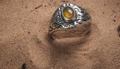 Sterling silver ring with opal    Sidabrinis autorinis žiedas su opalu.  #opal #ring #casting #jewelry