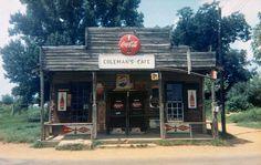 William Christenberry - Colemans Cafe, Greensboro, Alabama
