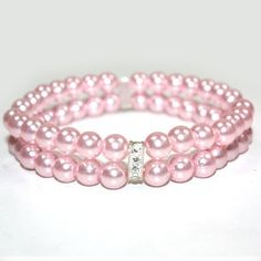 Dog Jewelry For Dogs : Amazon.com: PAWZ Road 2 Rows Pet Necklace Dog Collar Cat Jewelry with Pearls Rhinestones Pink Charm