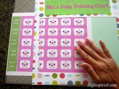 Potty Training Chart with Free Printable