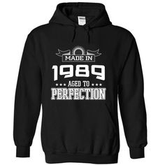 Made in 1989 - Perfection - #pink tee #sweatshirt jacket. CLICK HERE => https://www.sunfrog.com/LifeStyle/Made-in-1989--Perfection-sfajh-Black-5042673-Hoodie.html?68278