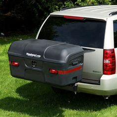 MAX Hitch Cargo Carrier - Black   StowAway Carriers