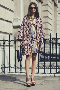 autumn fashion, pattern mixing, geometric prints, mixing patterns, mixed patterns