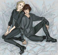 "Emma & Julian (""the Dark Artifices"" by Cassandra Clare)"