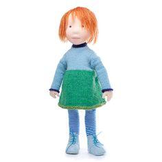 Amber - Handmade cloth doll