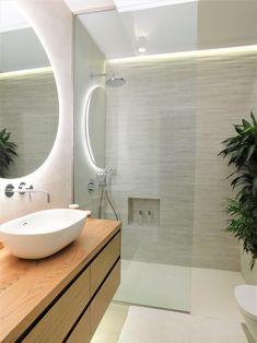 bathroom renovation by Tatiana Doria Bathroom Lighting, Bathtub, Mirror, Furniture, Home Decor, Bathroom Light Fittings, Standing Bath, Bathroom Vanity Lighting, Bathtubs