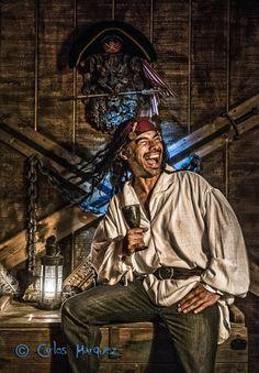 Carlos Marquez, The Happy Pirate