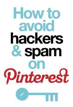 How to Avoid Hackers Spam on Social Media Trends, Social Media Plattformen, Pinterest Tutorial, Web 2.0, E-mail Marketing, Business Marketing, Pinterest For Business, Pinterest Account, Pinterest Pin