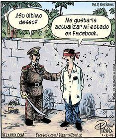 Actualizar mi estado de Facebook →  #humor #humorgrafico #imagenesdivertidas
