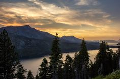 Capture the Sunset at the Angora Ridge Fire Lookout , Lake Tahoe